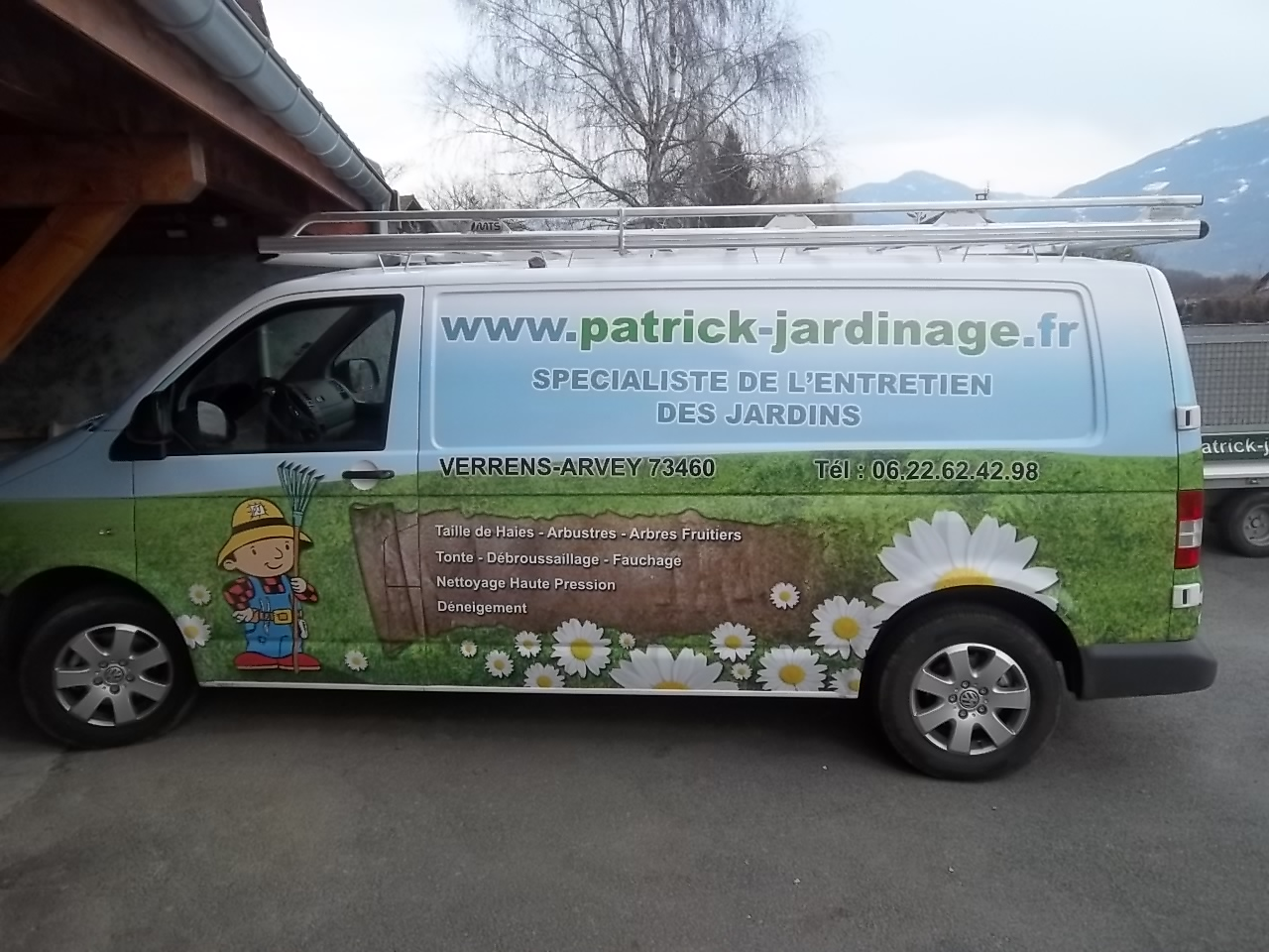 Accueil patrick jardinage paysagiste jardinier sur for Travaux jardinage